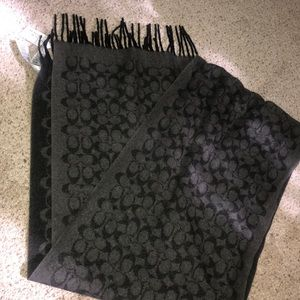 Coach scarf. New with tags